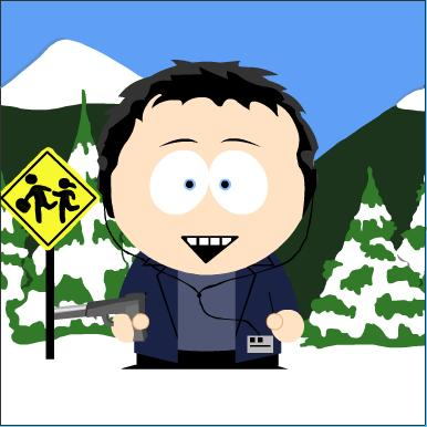 The Webmaster in South Park