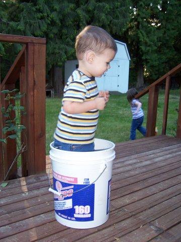 Bucket dance!