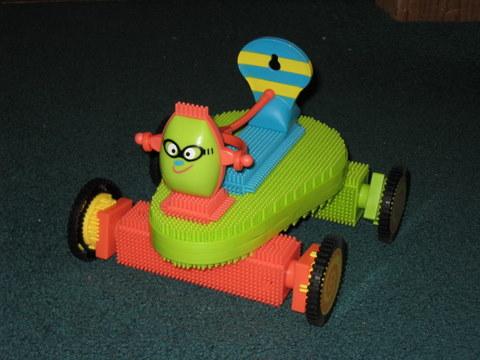 Bristle Block Race Car