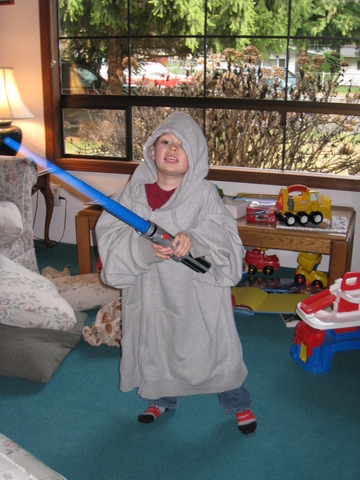 Tad as a Jedi