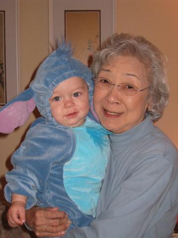 Obachan and Rerun, Halloween 2010