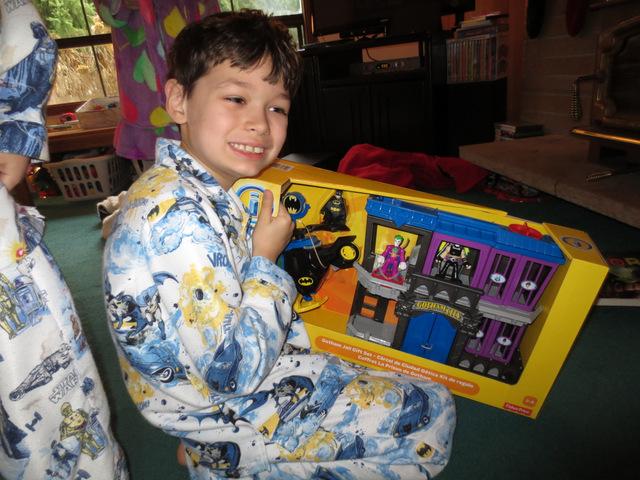 Tad's big gift - more Batman toys