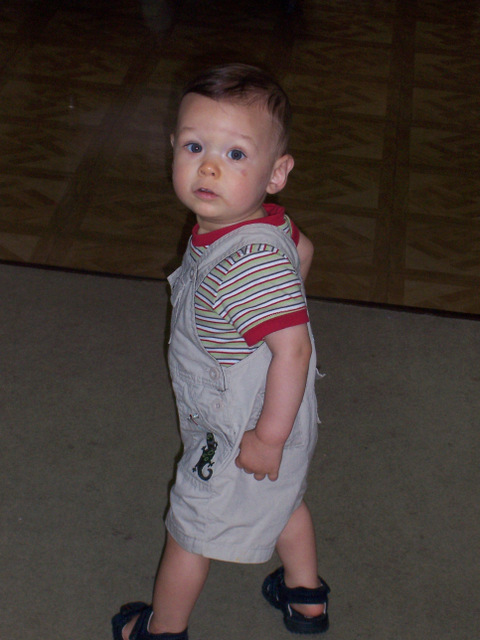 Tad, 11 months old