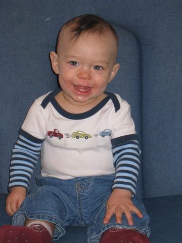 Rerun, 11 months old