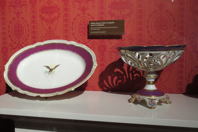 Pieces from the Lincoln White House china