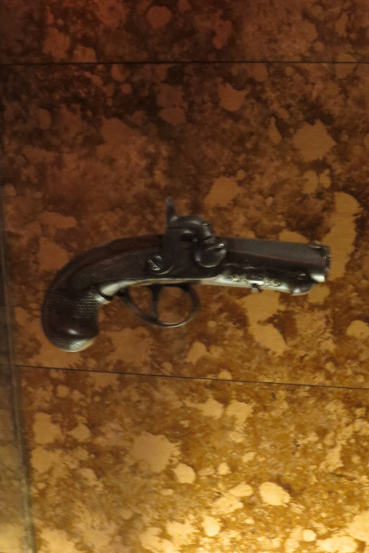 Booth's gun that killed Lincoln