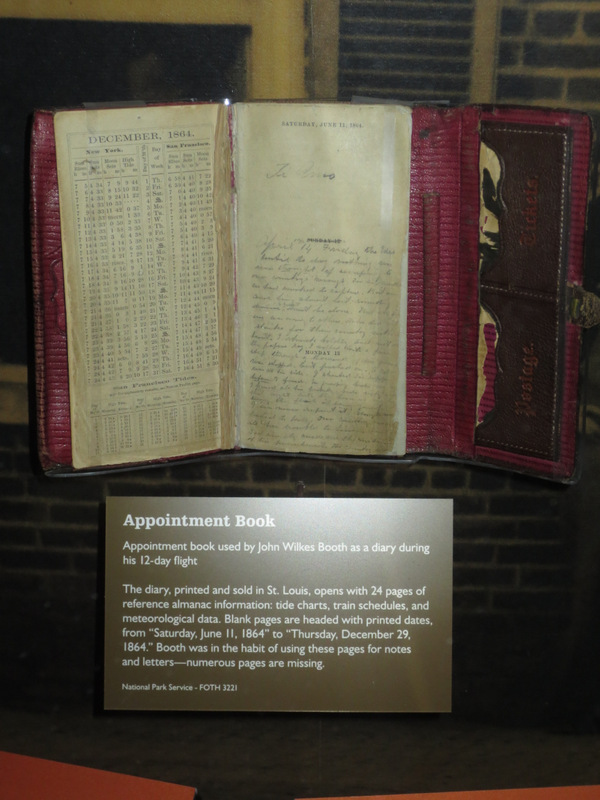 Booth's journal