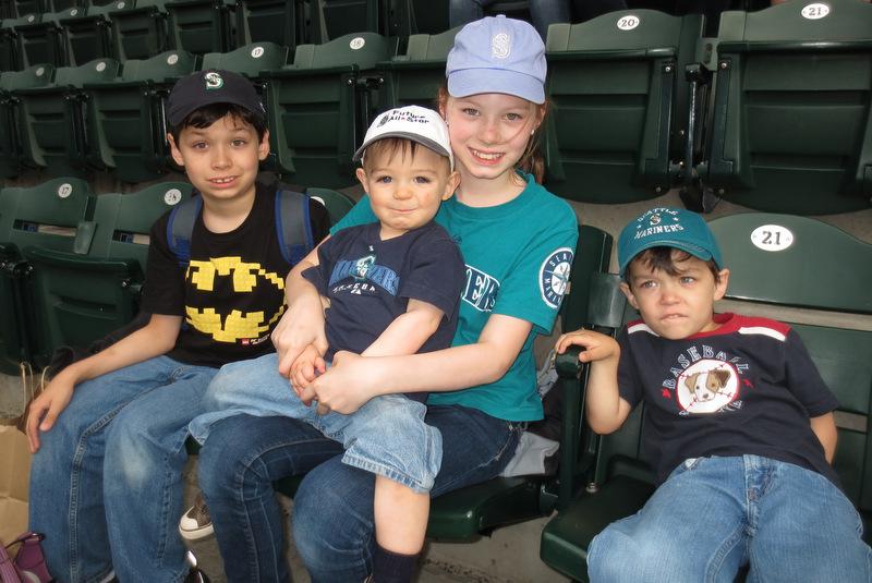 Kids in hats!
