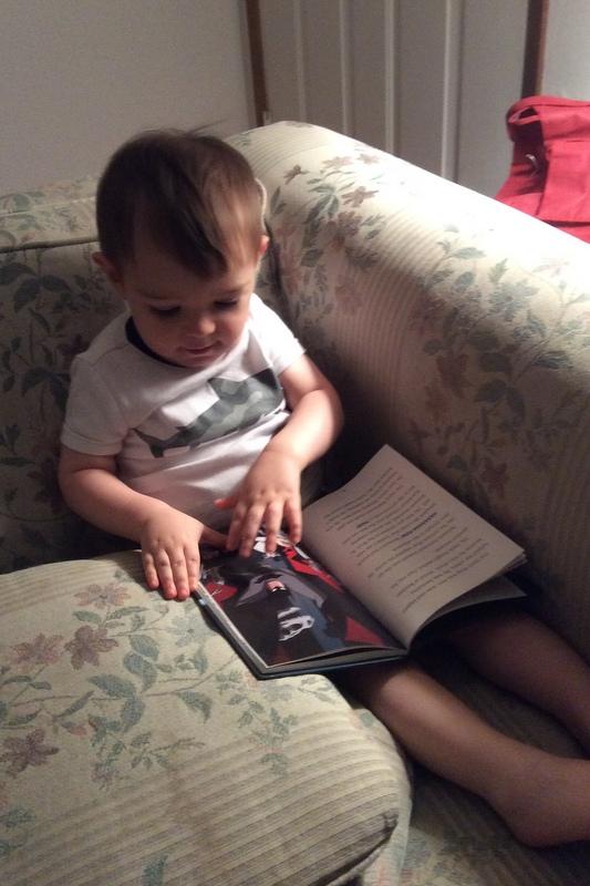 Reading Batman chapter books