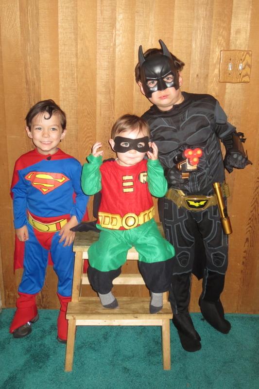 The mini Justice League