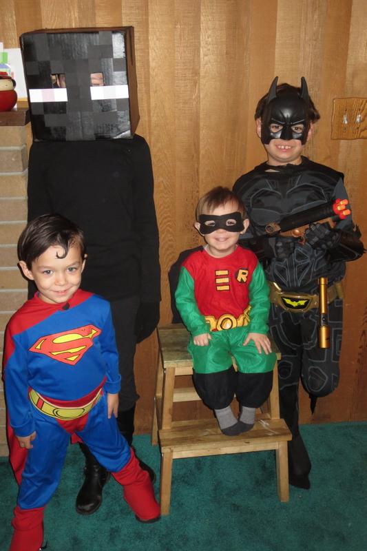The kids, Halloween 2014