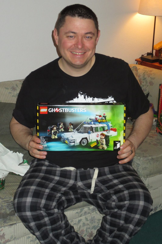 The Webmaster gets Legos, too