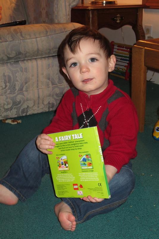 Thumper loves books!