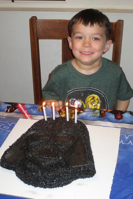 Rerun's 4th birthday cake
