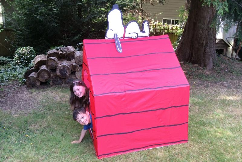 Snoopy's doghouse!