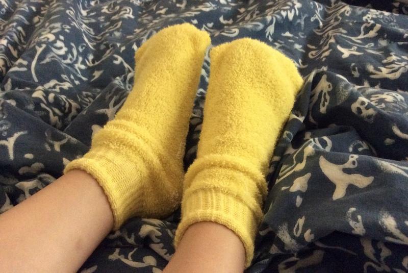 Duck feet socks