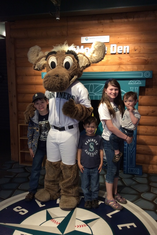 Picture with the Moose!