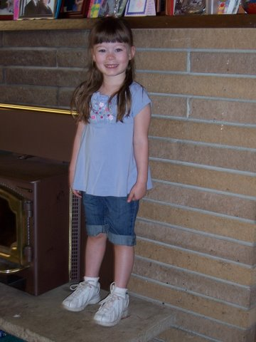 Ane's first day of preschool