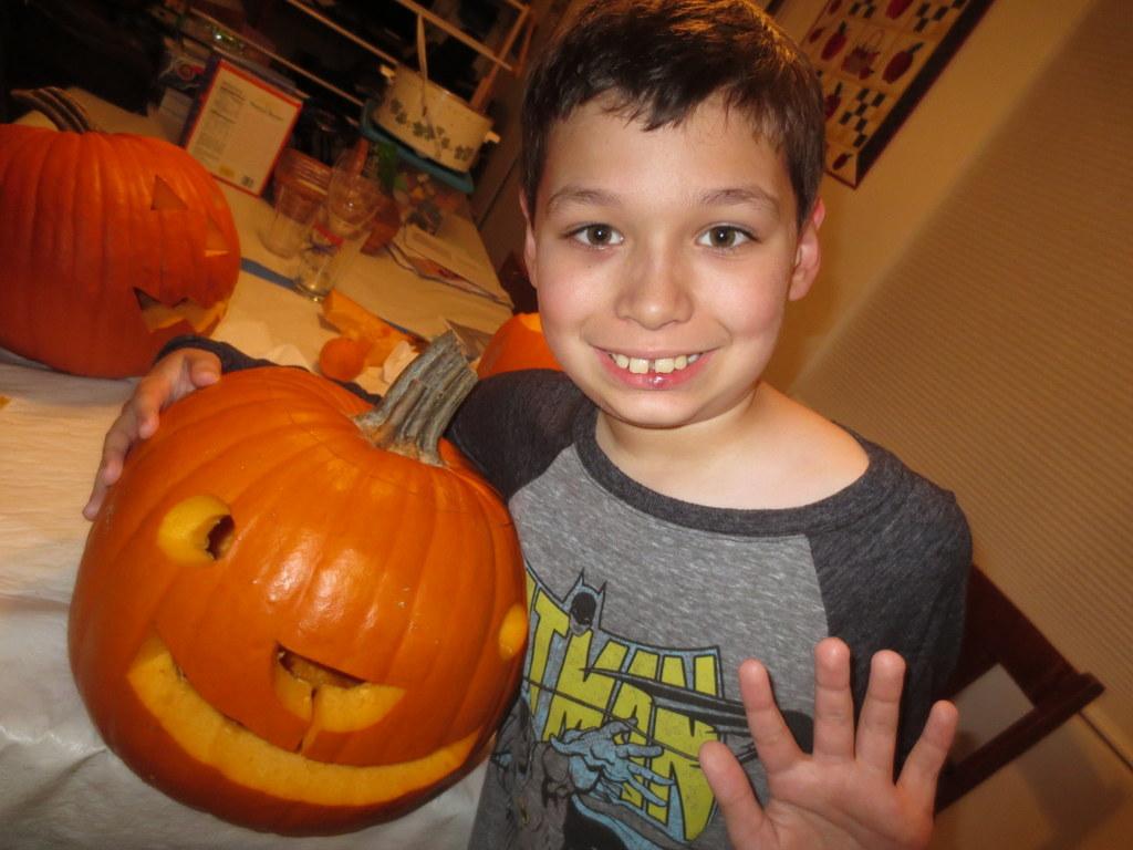 Tad's pumpkin