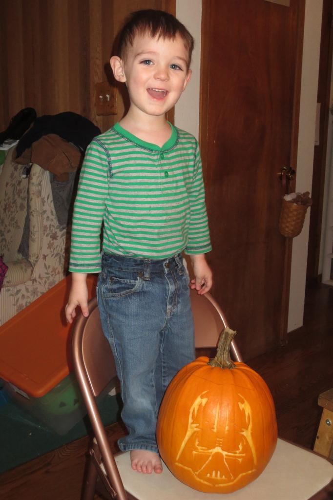 Thumper's pumpkin