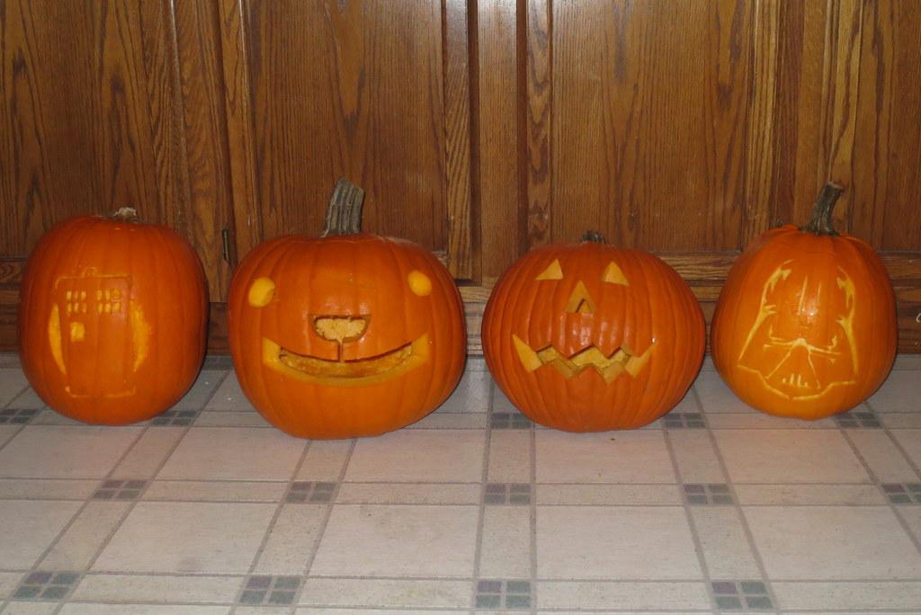 The 2015 pumpkins!