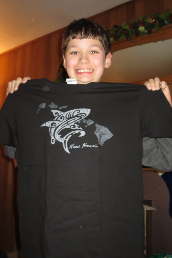 New shark shirt