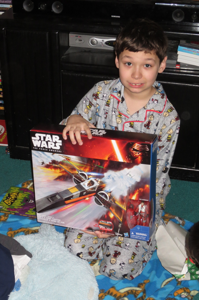 Tad gets a new X-wing