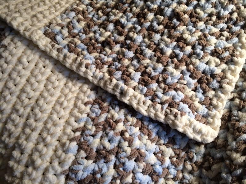 Super bulky soft yarn