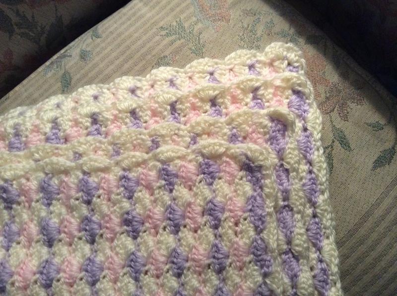 Finished folded blanket