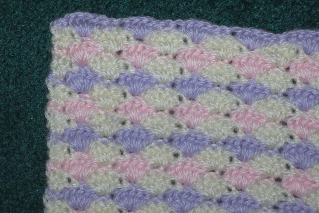 Baby Cousin's blanket, in progress