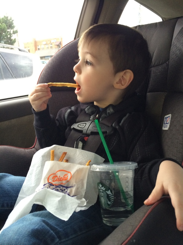 Fries please!