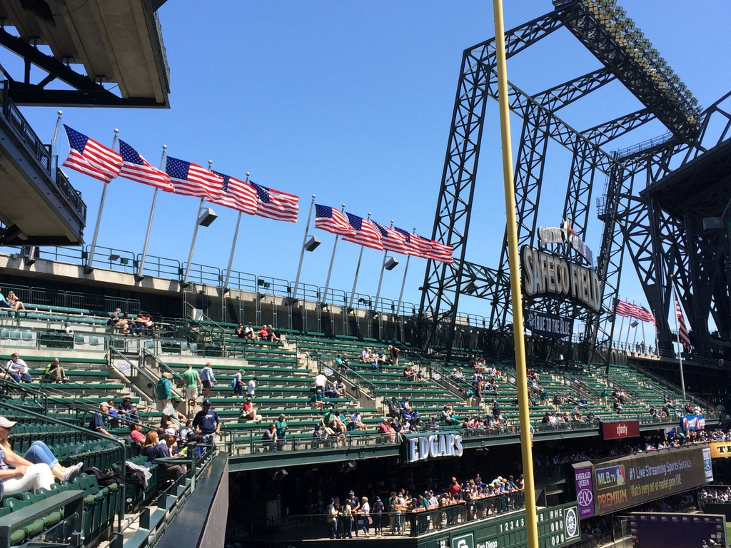 Safeco's flags