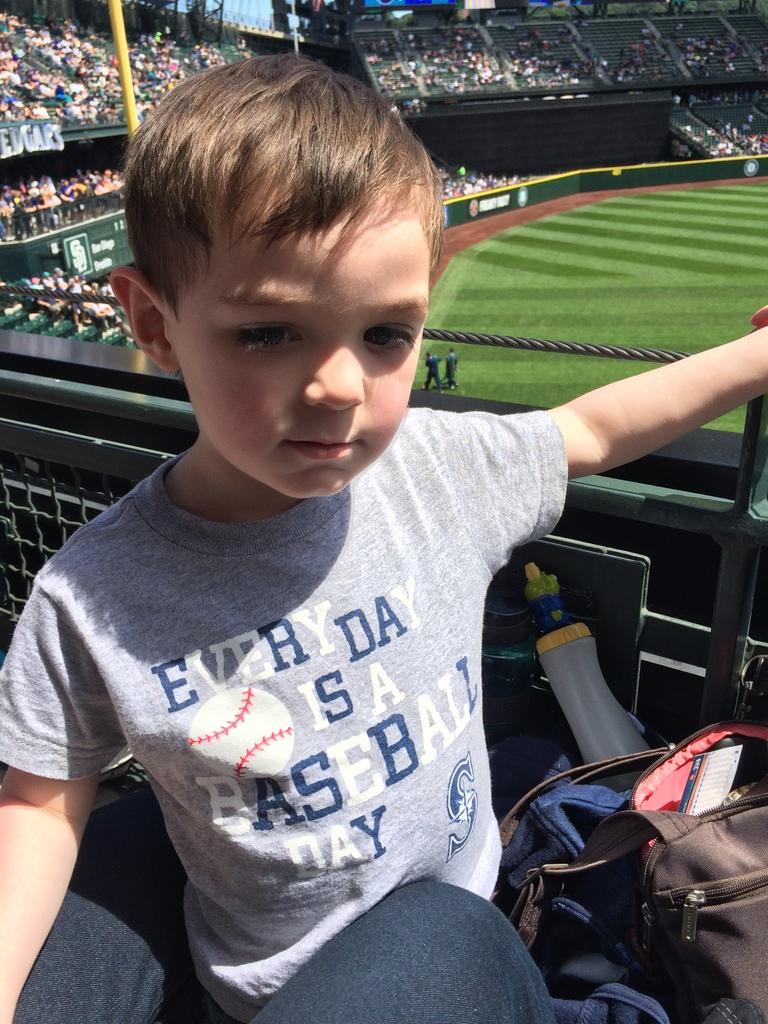 Thumper is ready for baseball