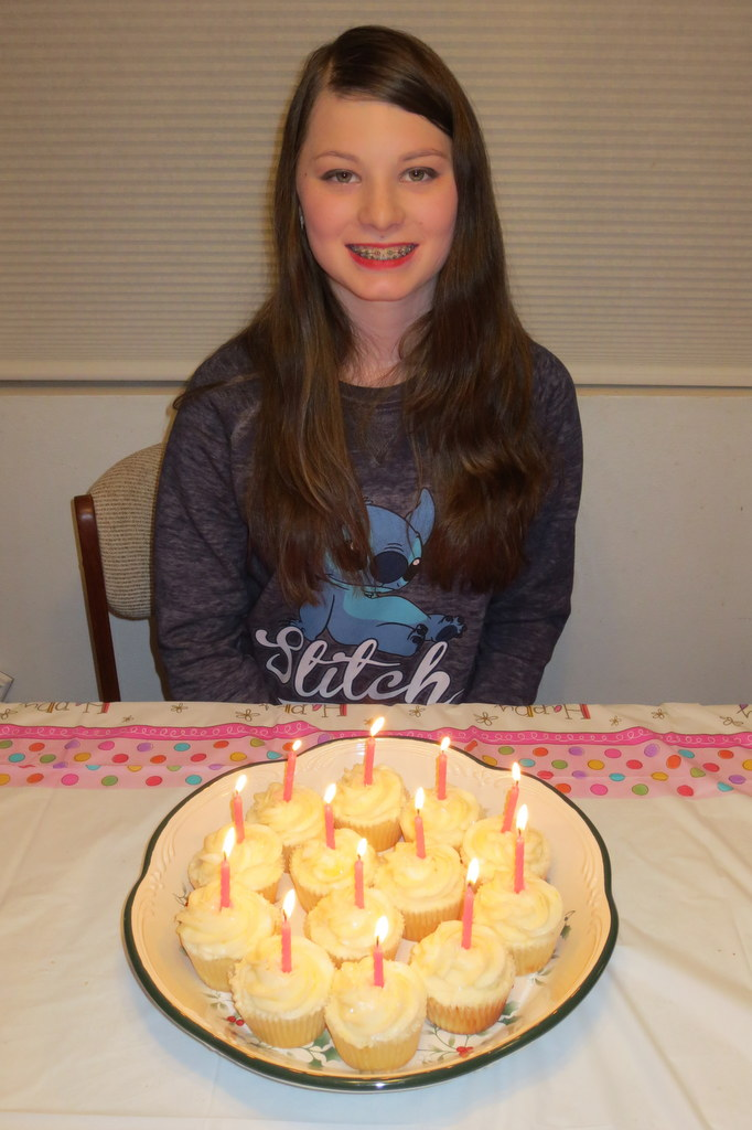 Candles lit!